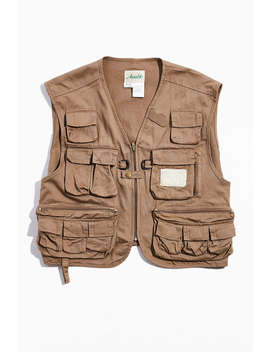 Vintage Ausable Hunting Vest by Urban Outfitters Vintage