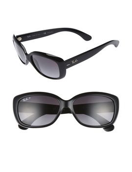 58mm Polarized Sunglasses by Ray Ban