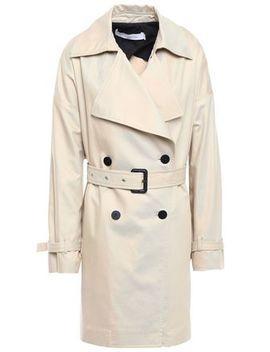 Harper Cotton Blend Gabardine Trench Coat by Iro