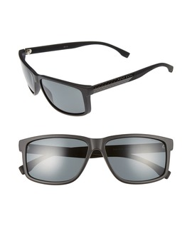 60mm Polarized Sunglasses by Boss