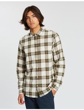 Linen Cotton Long Sleeve Shirt by Gap