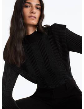 Sweater De Malha Canelada by Uterqüe