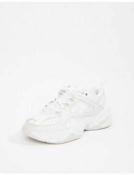 Nike   M2 K Tekno   Witte Sneakers by Nike