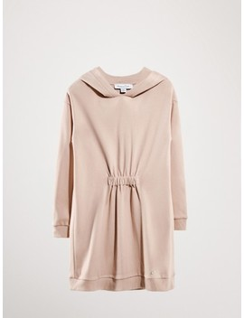 Cotton Dress With Hood by Massimo Dutti