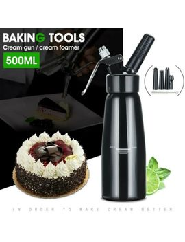 0.5 L Cream Whipper Whipped Dispenser Canister Cake Nitrous Dessert Coffee Newest by Unbranded