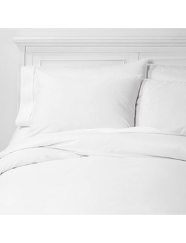 Organic Solid Duvet & Sham Set   Threshold™ by Threshold