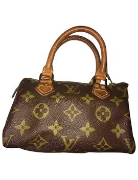 Nano Speedy / Mini Hl Cloth Handbag by Louis Vuitton