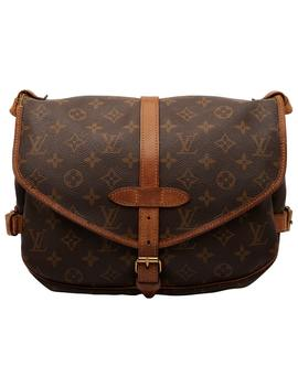 Saumur Cloth Handbag by Louis Vuitton
