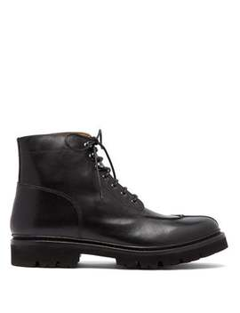 Grover Leather Lace Up Boots by Grenson