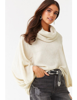 Relaxed Turtleneck Top by Forever 21