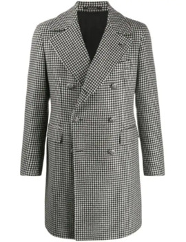 Double Breasted Wool Coat by Tagliatore