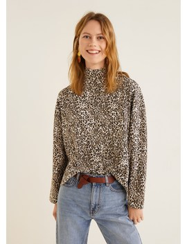 Camisola Estampado Leopardo by Mango