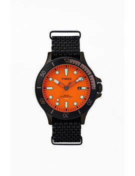 Timex Coastline Fabric Strap Watch by Pacsun