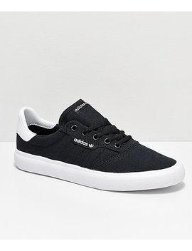 Adidas 3 Mc Black &Amp; White Canvas Shoes by Adidas