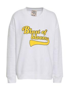 Printed French Cotton Blend Jersey Sweatshirt by Baum Und Pferdgarten