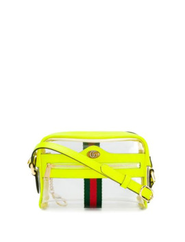 Transparent Panel Crossbody Bag by Gucci