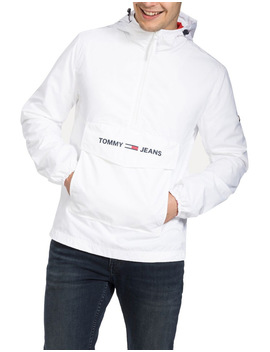 Lightweight Pull On Hooded Jacket by Tommy Jeans