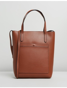Leather Essentials Tote by Banana Republic