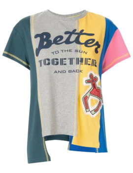 Panelled Asymmetric T Shirt by Mira Mikati