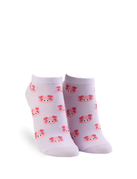 Pig Ankle Socks by Forever 21