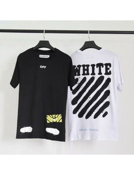 Au Stock Off White Tee Shirt Street Wear Tee Top Unisex by Unbranded