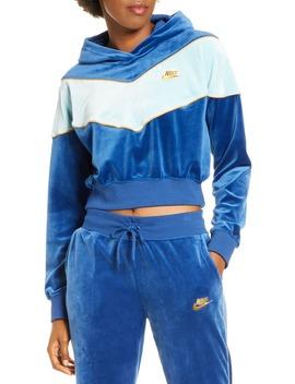 Sportswear Heritage Crop Hoodie by Nike