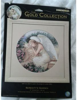 Dimensions Gold Cross Stitch Kit. Serenity's Garden. Unused Kit.  by Ebay Seller