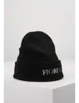 Beanie With Embroidered Logo   Pipo by Fiorucci