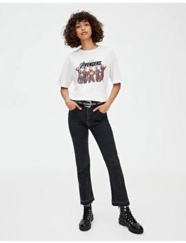 Camiseta Los Vengadores Heroínas by Pull & Bear