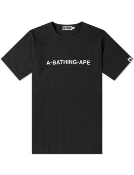 A Bathing Ape Wide Tee by A Bathing Ape's