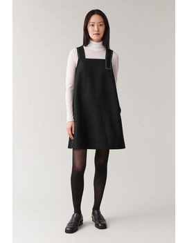 Strap Dress With Topstitching by Cos