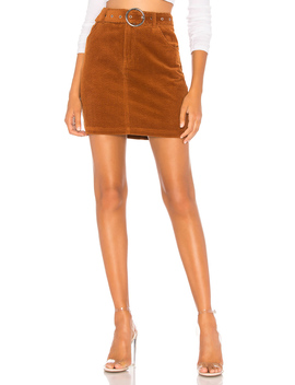 Jenny Belted Mini Skirt by About Us