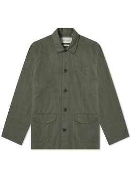 Oliver Spencer Linen Hockney Chore Jacket by Oliver Spencer