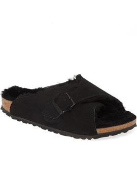 Arosa Genuine Shearling Slide Sandal by Birkenstock
