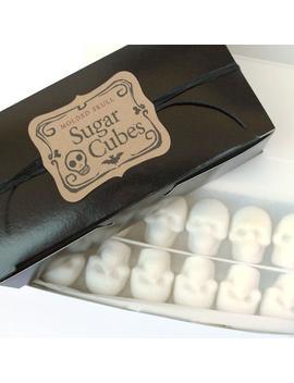 Edible Sugar Skulls In Bulk, Skulls For Halloween Treats Nightmare Before Christmas Gift by Etsy