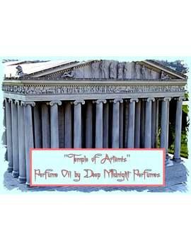 Temple Of Artemis Perfume Oil   Amber Resin, Sandalwood, Blood Orange, Golden Musk   Ancient Perfume   Seven Wonders by Etsy