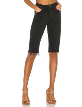 Carrie Long Length Slim Short by Agolde