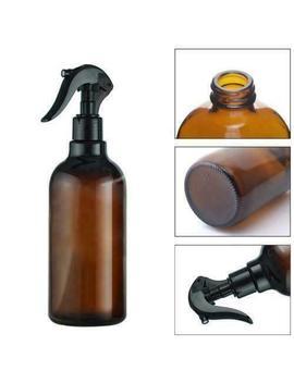 500ml Amber Plastic Spray Bottles Lotion Essential Oil Shampoo Liquid Pump Au by Bluelanshomeau