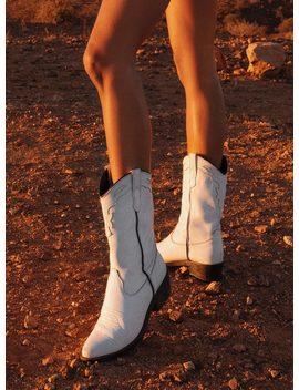 Roc Boots Australia Indio Boots White Vintage White by Roc Boots Australia