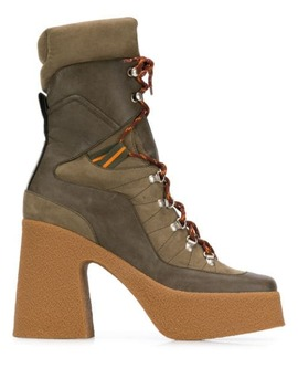 Platform Lace Up Boots by Stella Mc Cartney