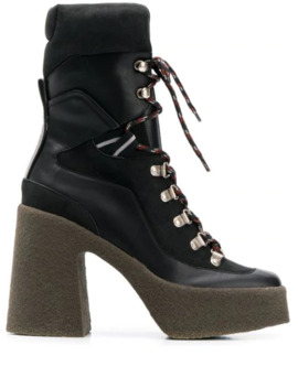 Hiking Platform Boots by Stella Mc Cartney