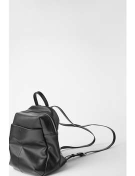 Basic Zipped Backpack by Zara