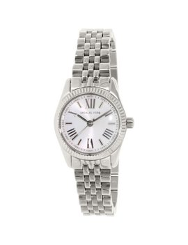 Michael Kors Women's Lexington Mk3228 Silver Stainless Steel Japanese Quartz Fashion Watch by Michael Kors