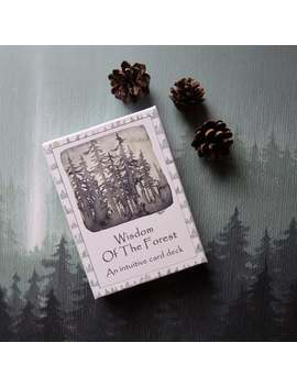 Pre Order   The Wisdom Of The Forest   An Intuitive Card Deck   Meditation   Yoga   Oracle Cards   Wellness by Etsy