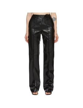 Black Workwear Trousers by Kwaidan Editions