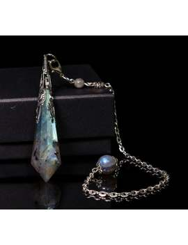 Aaaaa Labradorite Quartz Pendulum/Dowsing Tool For Chakra/Reiki/Balancing/Meditation/Crystal Pendulum/Divination Tool/Gift For Mom by Etsy