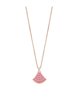 Rose Gold And Pink Sapphire Divas' Dream Necklace by Bvlgari