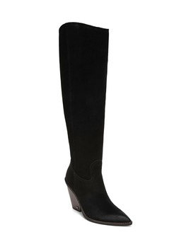 Indigo Pointed Toe Knee High Boot by Sam Edelman