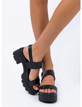 Windsor Smith Emmy Black Sandal by Windsor Smith