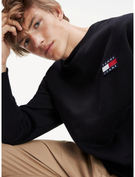 Heavyweight Knit Comfort Fit Sweatshirt by Tommy Jeans